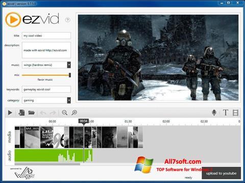 Ekrano kopija Ezvid Windows 7