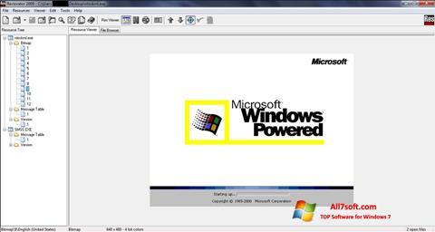 Ekrano kopija Restorator Windows 7