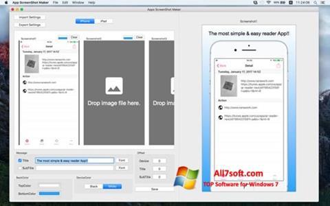 Ekrano kopija ScreenshotMaker Windows 7
