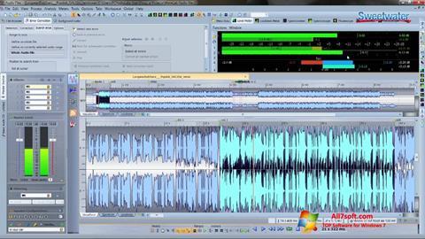 Ekrano kopija WaveLab Windows 7
