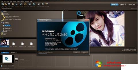 Ekrano kopija ProShow Producer Windows 7