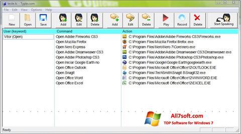 Ekrano kopija Typle Windows 7
