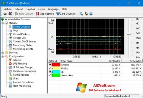 Ekrano kopija TMeter Windows 7