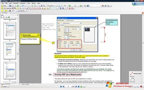 Ekrano kopija PDF-XChange Editor Windows 7