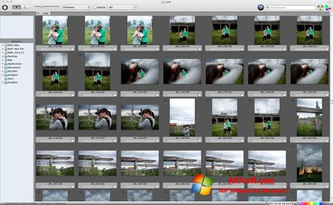 Ekrano kopija Photo Mechanic Windows 7