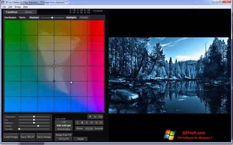 Ekrano kopija 3D LUT Creator Windows 7