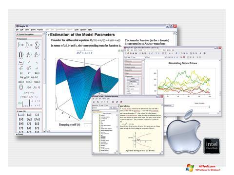 Ekrano kopija Maple Windows 7