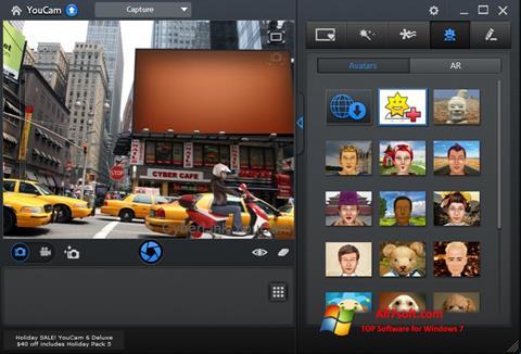 Ekrano kopija CyberLink YouCam Windows 7